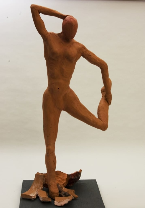 Guseppe Canali Ballerina con Piede in mano Ceramica