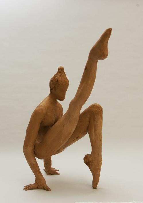 Guseppe Canali Ballerina con piede alzato Ceramica