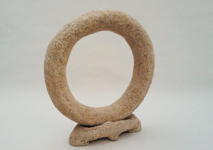 Giuseppe Canali Cerchio Ceramica Raku da Cuocere