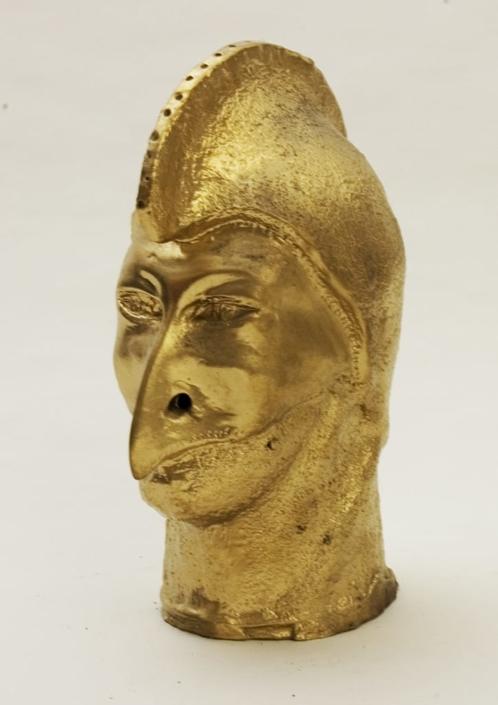 Giuseppe Canali Pulcinella Oro Ceramica