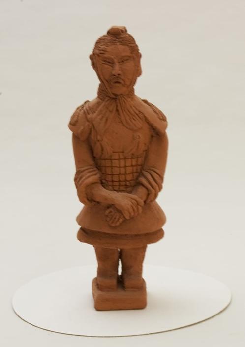 Giuseppe Canali Soldato Armata di Terracotta Cinese Ceramica