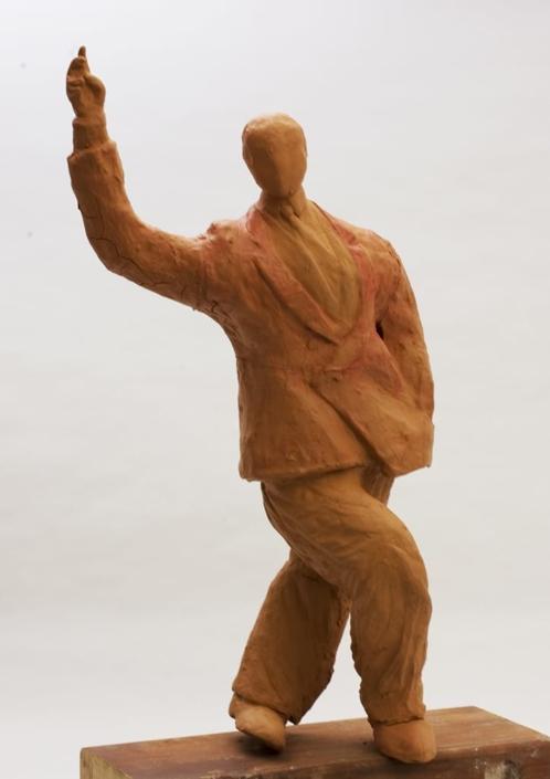 Giuseppe Canali Tangheiro Ballerino di Tango Ceramica