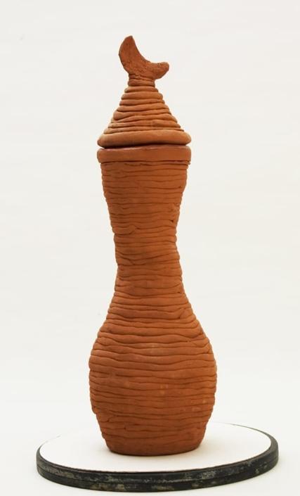 Giuseppe Canali Vaso Colombino Ceramica